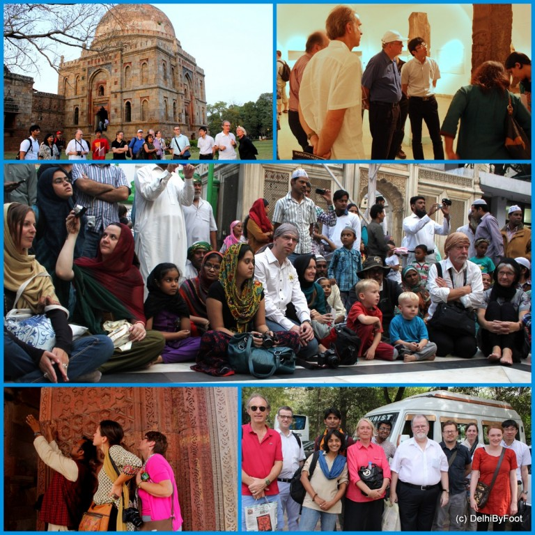 Using mix of experiences including places of historical importance, museums and family visits