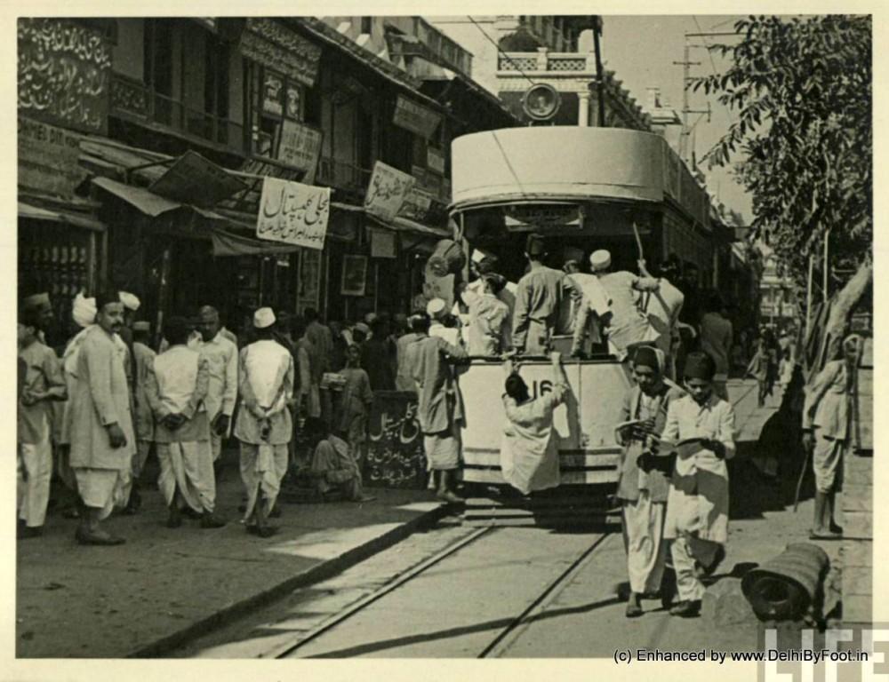 Tram in Delhi _Delhi By Foot
