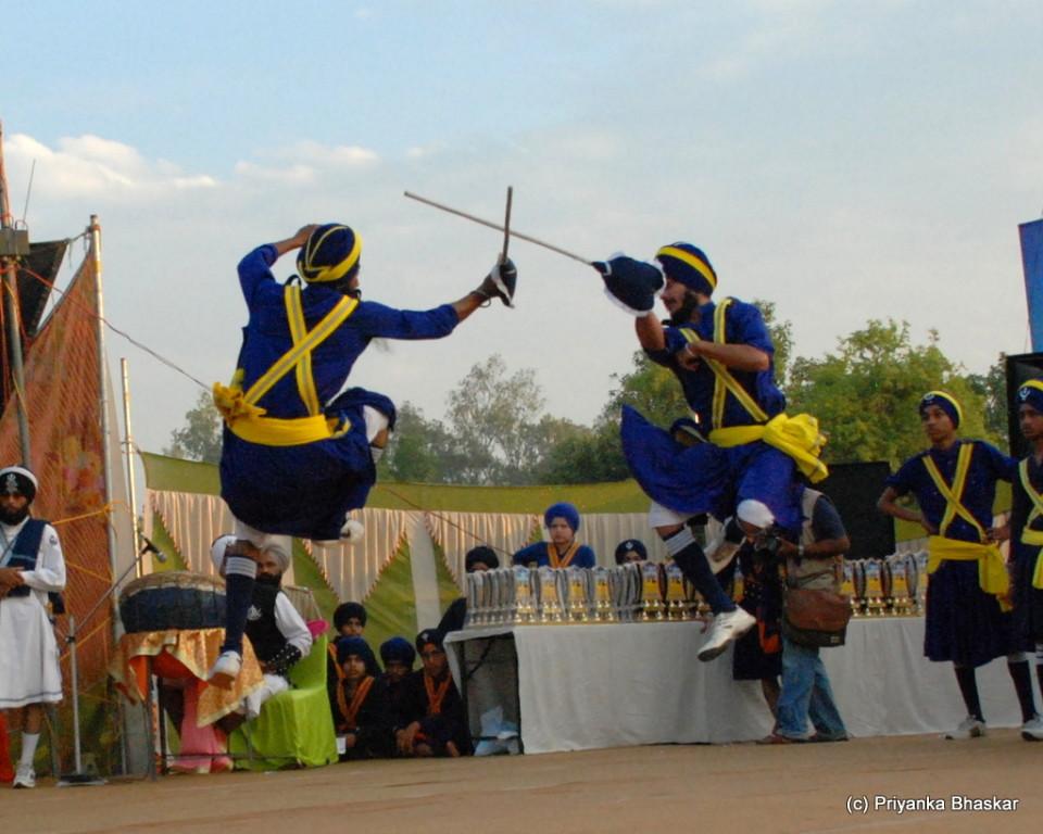 Gatka or Mock Martial Fights
