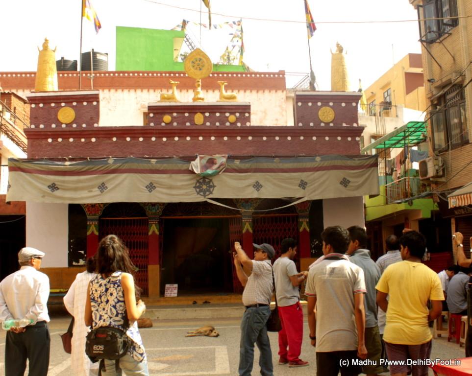 Buddhist Colony in Delhi
