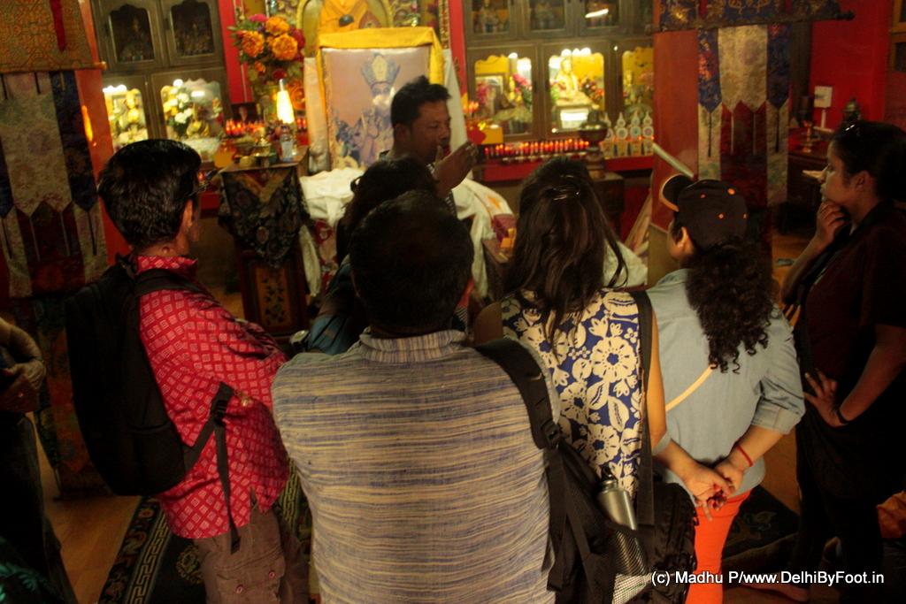 Budh Purnima Walk Buddhist Colony in Delhi
