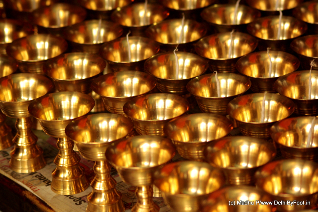 Polished lamps await butter for readiness of