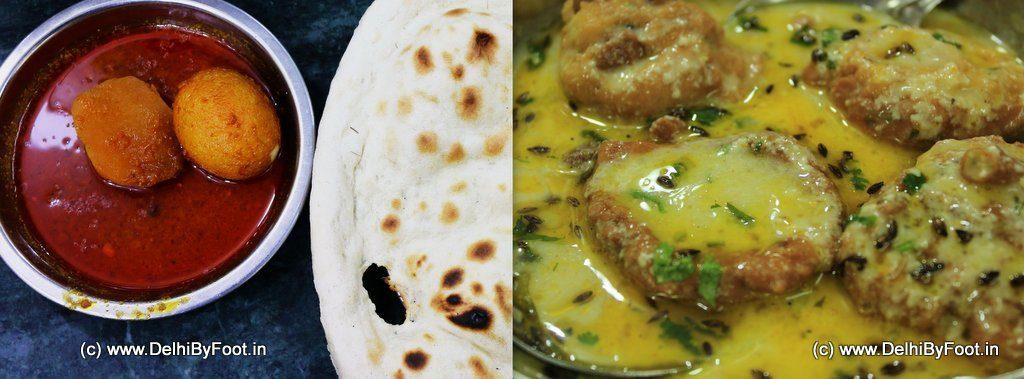 Manzoor Hotel Egg Curry & Dahi Pakodey