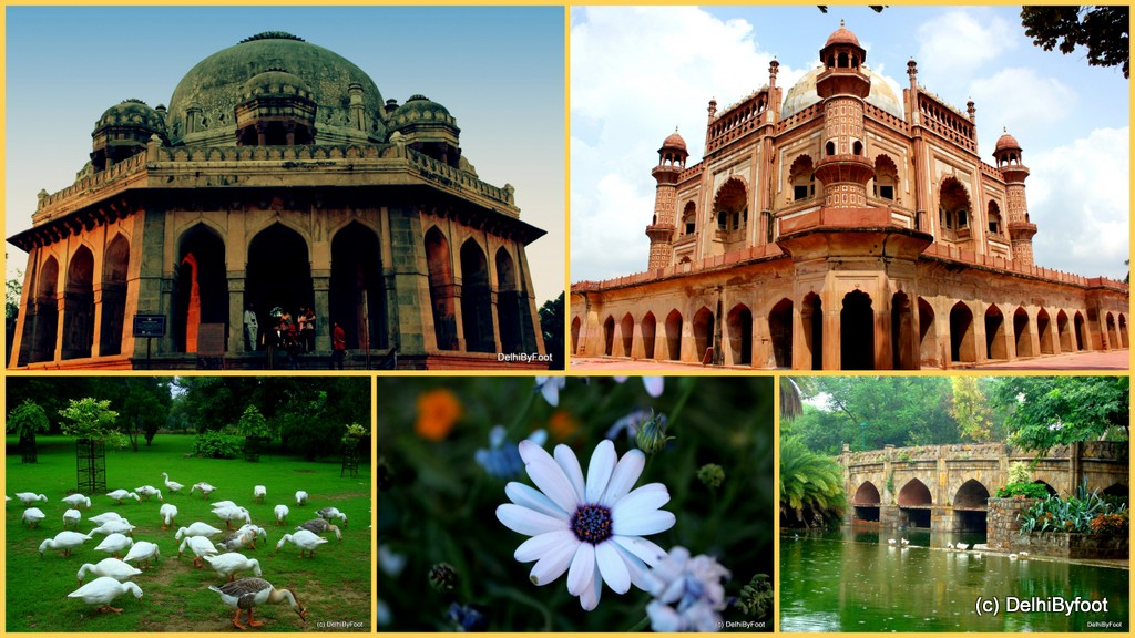 Delhi Outdoors, Heritage & Gardens