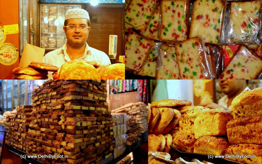 Bakery products Golden Bakery in Old Delhi