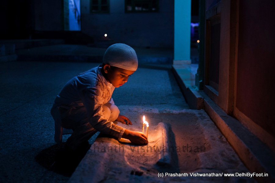 Shab-E-Baraat Celebrations in Dilli…